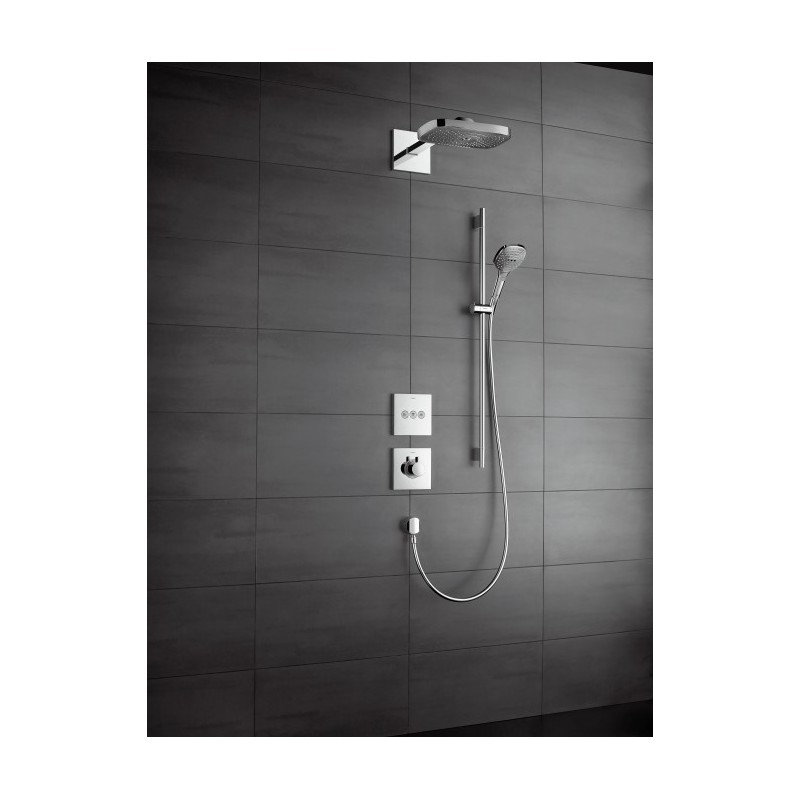 hansgrohe raindance select e 300 3jet overhead galaxy. Black Bedroom Furniture Sets. Home Design Ideas