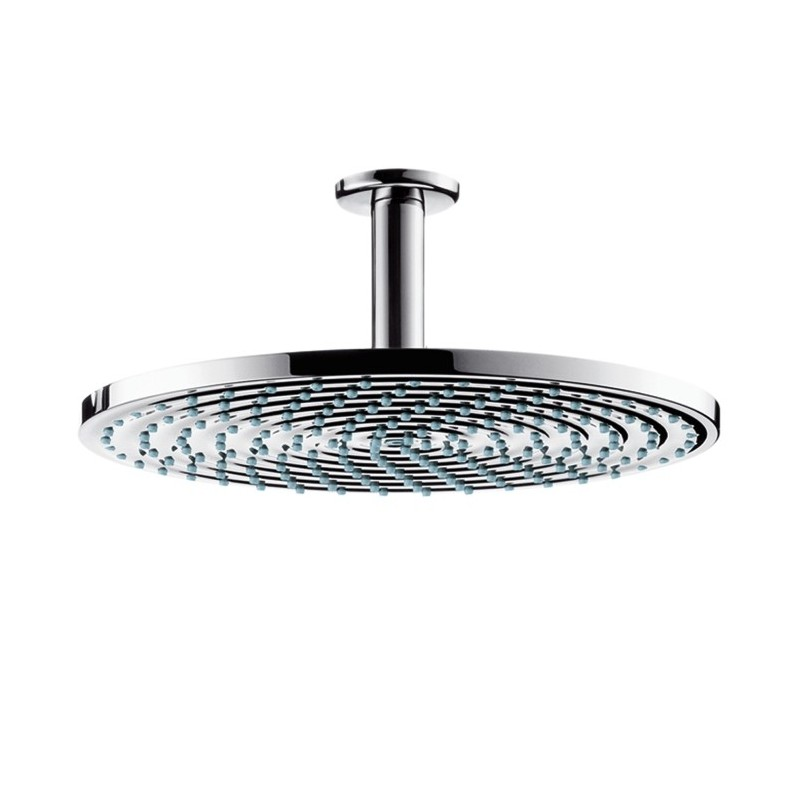 hansgrohe raindance air plate overhead shower 300mm with ceiling connector galaxy bath ltd. Black Bedroom Furniture Sets. Home Design Ideas