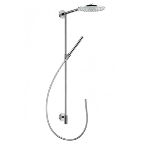hansgrohe raindance connect showerpipe s240 air with 350mm shower arm galax. Black Bedroom Furniture Sets. Home Design Ideas