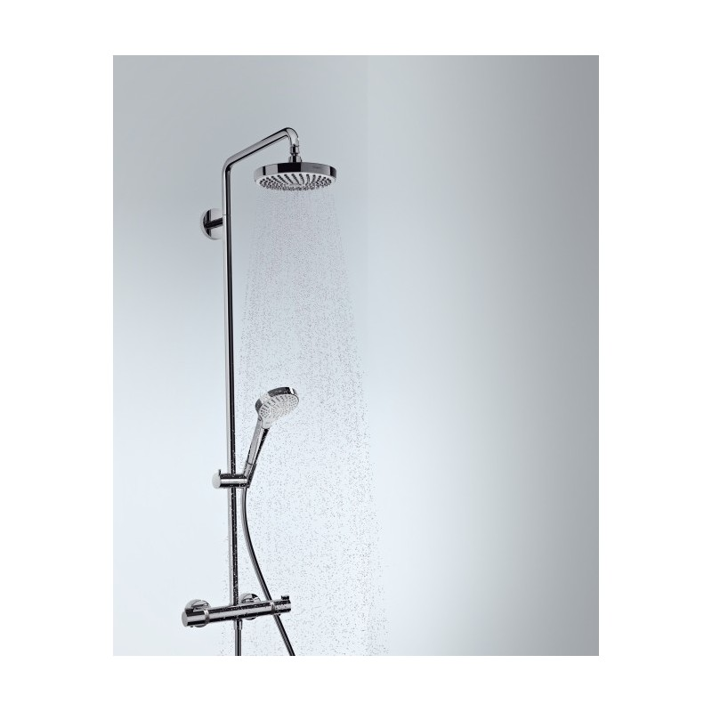 hansgrohe croma select s 180 2jet showerpipe galaxy bath ltd. Black Bedroom Furniture Sets. Home Design Ideas