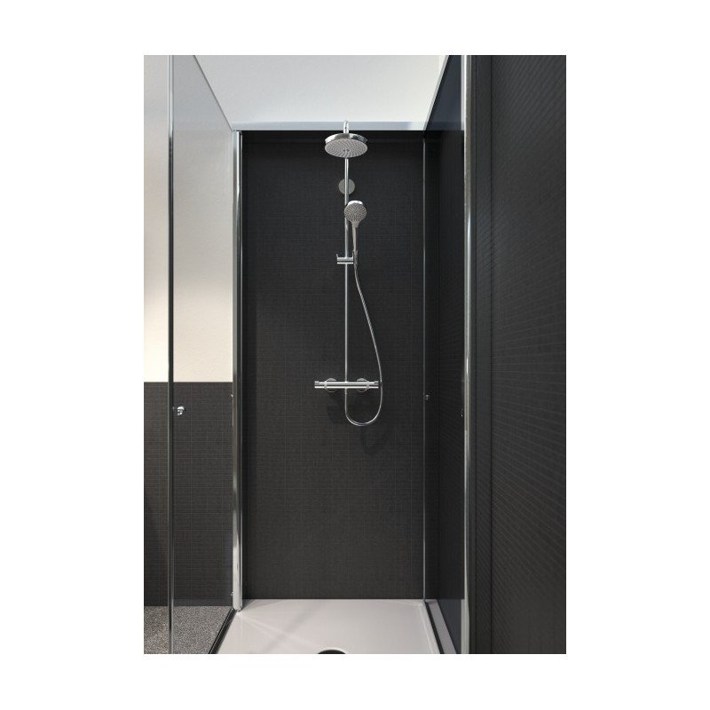 hansgrohe croma select s 180 2jet showerpipe ecosmart galaxy bath ltd. Black Bedroom Furniture Sets. Home Design Ideas