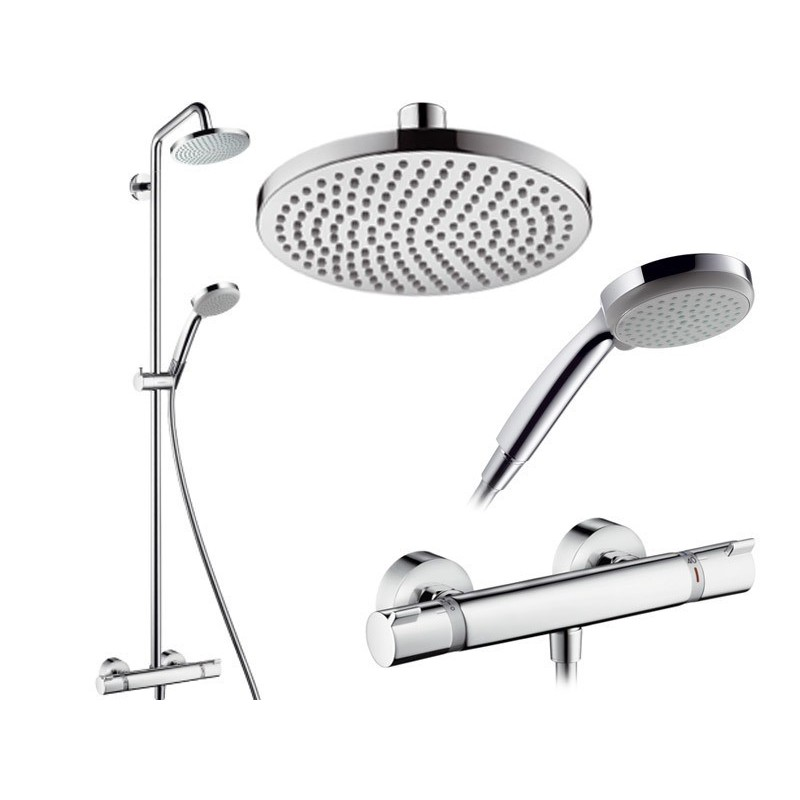 hansgrohe croma 160 showerpipe galaxy bath ltd
