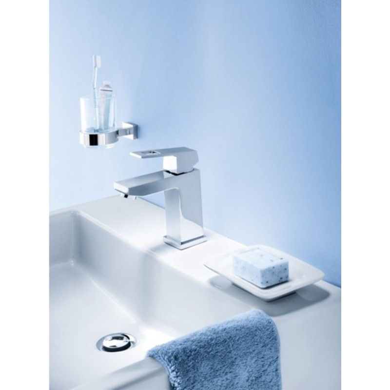 grohe eurocube chrome basin mixer tap 23127000 galaxy. Black Bedroom Furniture Sets. Home Design Ideas