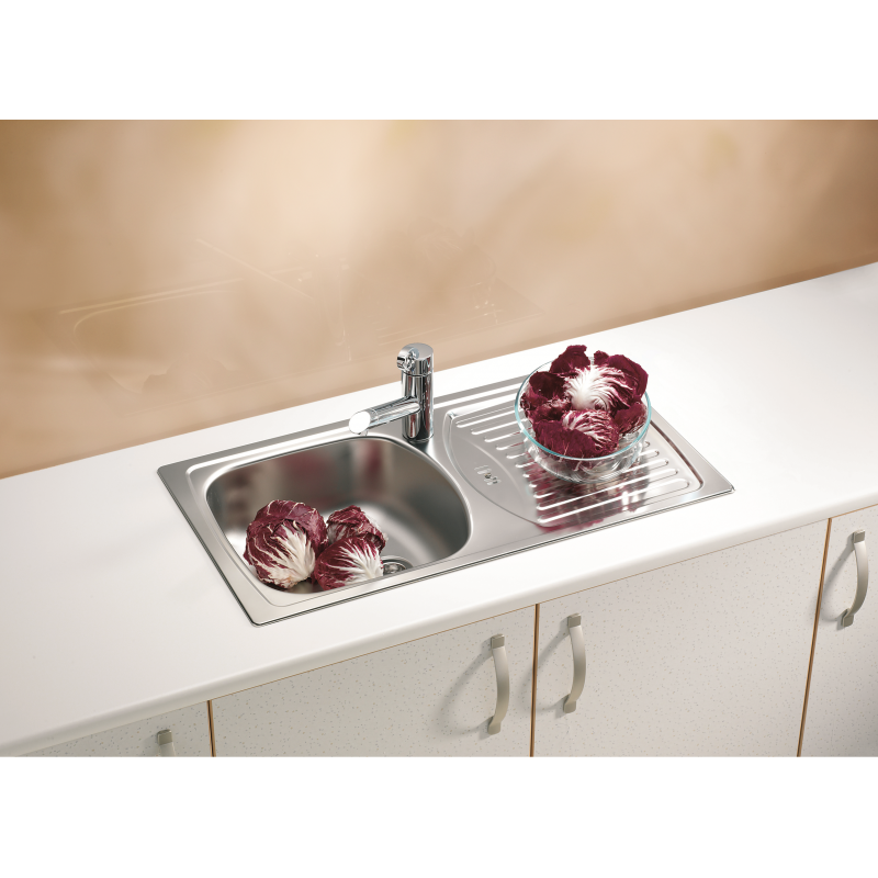 ... STAINLESS STEEL KITCHEN SINK & PLUMBING KIT SET - Galaxy Bath LTD