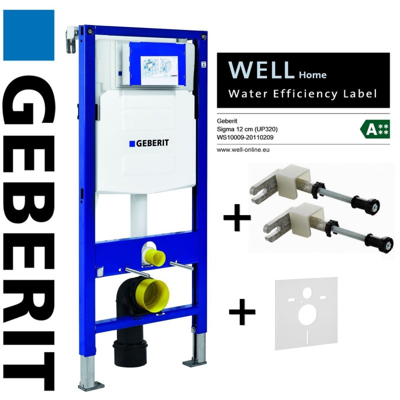 geberit duofix wc toilet frame up320 sigma cistern. Black Bedroom Furniture Sets. Home Design Ideas