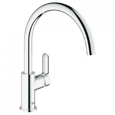 grohe bauedge kitchen sink mixer tap single lever - Kitchen Sink Mixers