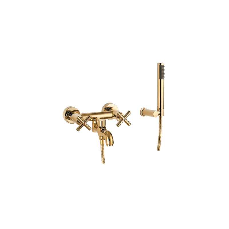 omnires modern bath mixer tap monoblock gold pvd with wall mounted bathroom faucet bath tub mixer tap with hand