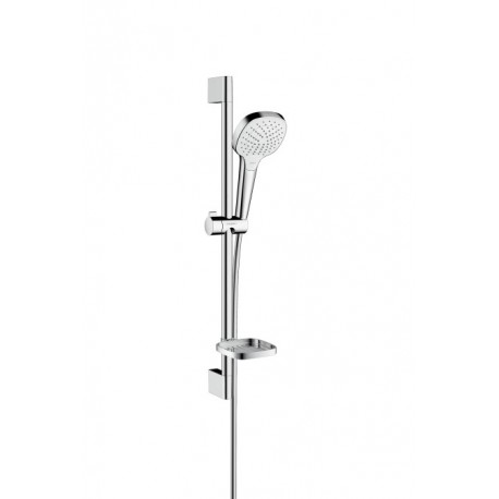 Hansgrohe Croma Select E Vario shower set 0.65m with Casetta