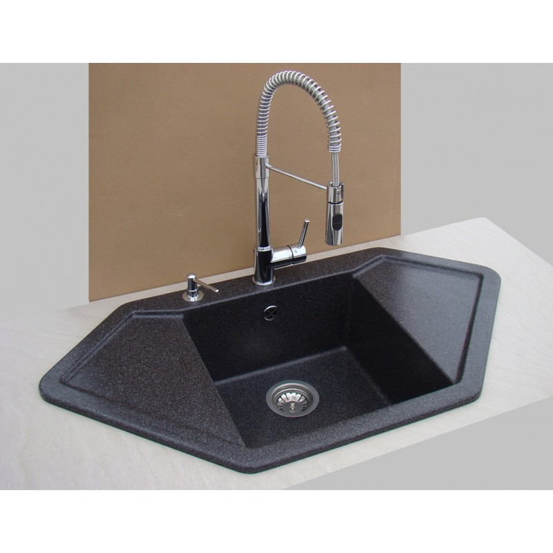 Franke Coxy Pull Out Spray Chrome Kitchen Sink Mixer Tap