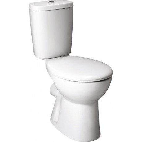 Roca Havana - Boxed WC Pack Close Coupled With Horizontal Outlet 3in1 Set