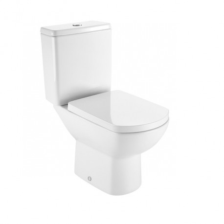 Roca Aire Close-coupled WC Toilet with Horizontal Outlet 3in1