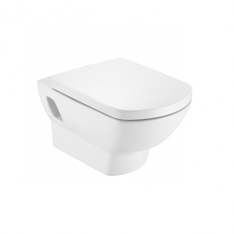 Roca Aire Wall-hung WC Pan with Horizontal Outlet