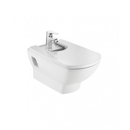 Roca Aire Back To Wall Hung Bidet With 1 Tap Hole