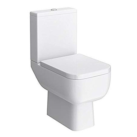 Rak Ceramics Series 600 Close Coupled Toilet with Standard Seat
