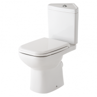 Rak Ceramics Origin 62 Corner Toilet with Soft-Close Seat