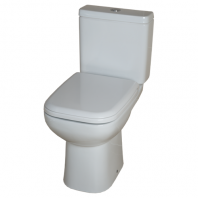 Rak Ceramics Origin 62 Close Coupled Toilet with Soft-Close Seat