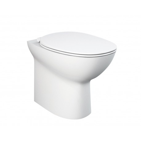 Rak Ceramics Morning Back-To-Wall Toilet with Soft-Close Seat