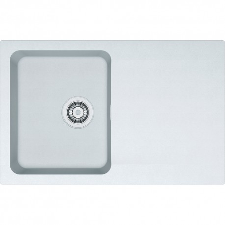 Franke Orion OID 611-78 1.0 Bowl Tectonite Inset Sink Stone Grey