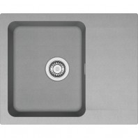 Franke Orion OID 611-62 1.0 Bowl Tectonite Inset Sink Onyx