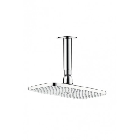 Hansgrohe Raindance E240 AIR 1jet Overhead Shower with 100mm ceiling connector