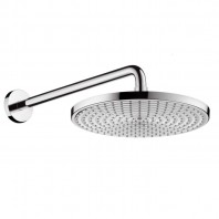 Hansgrohe Raindance AIR Plate overhead shower 300mm with long shower arm