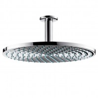 Hansgrohe Raindance AIR plate overhead shower 300mm with ceiling connector