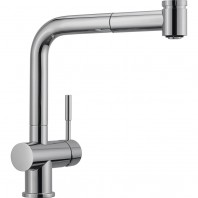 Franke Active Stainless Steel Chromed Kitchen Sink Tap with Pull-Out Spout