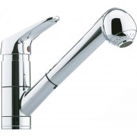 Franke Cascada Window Kitchen Sink Stainless Steel Tap with Pull-Out Spout