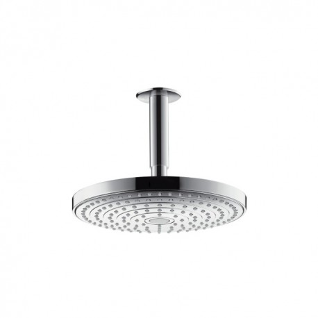 Hansgrohe Raindance Select S 240 2jet EcoSmart overhead shower with ceiling connector