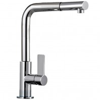 Franke Neptune Pull Out Spray Chrome Kitchen Sink Mixer Tap