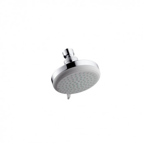 Hansgrohe Croma 100 Vario EcoSmart overhead shower with pivot joint
