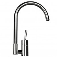 Franke Dixi Chrome Kitchen Sink Mixer Tap Single Lever