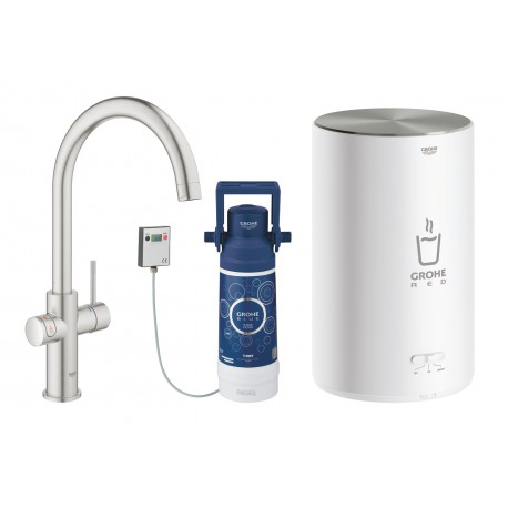 Grohe Red II Duo C Spout Boiler M Supersteel