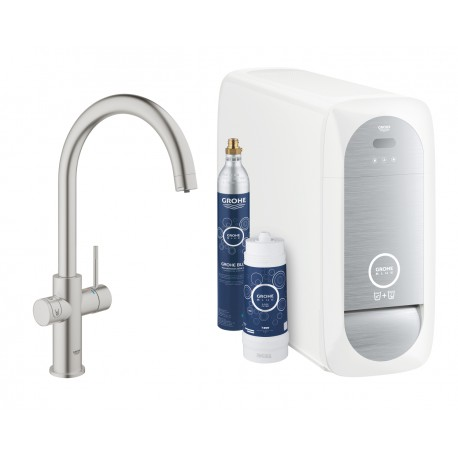 Grohe Blue Home Duo C Spout SuperSteel