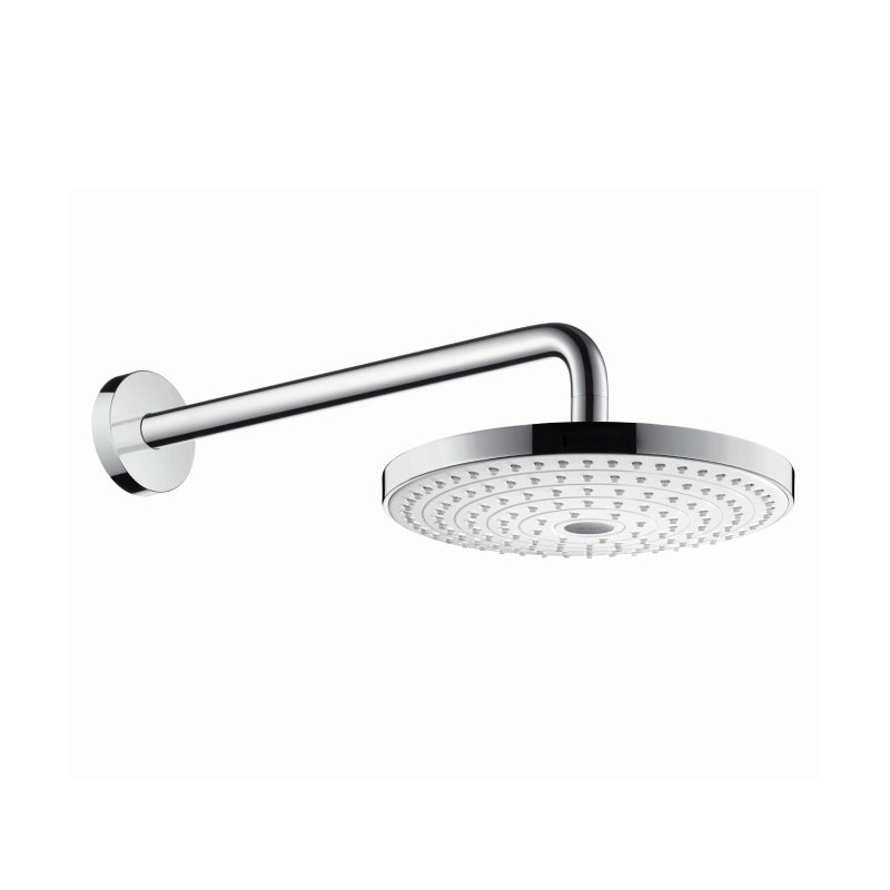 Hansgrohe raindance select s 240 2jet ecosmart overhead shower with - Hansgrohe shower arm ...