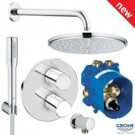 Grotherm 3000 Cosmopolitan + Rainshower shower pack