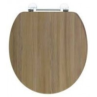 Holborn Wooden Soft-Close Toilet Seat - Modern Oak