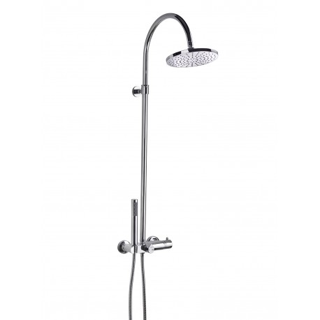 Aquaflow Italia Fusion Thermostatic Shower Column