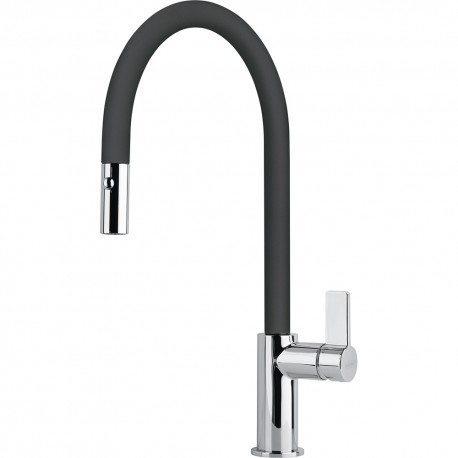 Franke Kitchen Sink Mixer Tap With Spout Ambient Fragranite Pull Ou