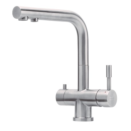 Franke Kitchen Sink Tap Stainless Steel With A Fixed Spout From Atl