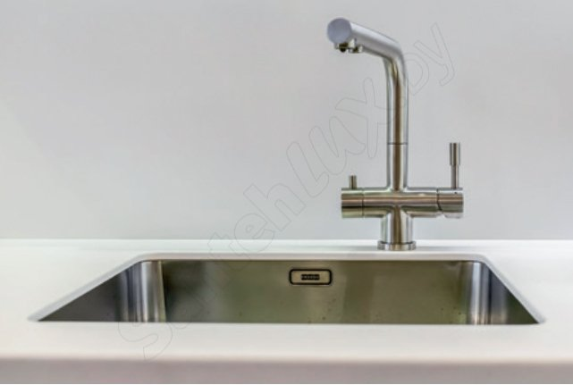 Strange Franke Kitchen Sink Tap Stainless Steel With A Fixed Spout From Atl Home Interior And Landscaping Ologienasavecom