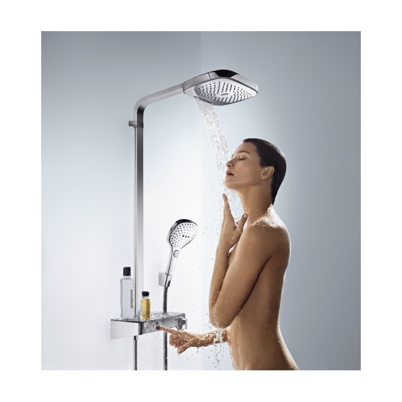 hansgrohe raindance select e 300 3jet showerpipe. Black Bedroom Furniture Sets. Home Design Ideas