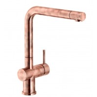 Franke Active Plus Single Lever Kitchen Mixer Tap Rustic Copper