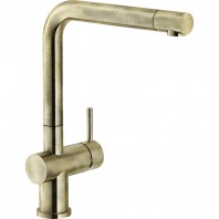 Franke Active Plus Single Lever Kitchen Mixer Tap Brass