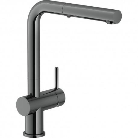 Franke Active Plus SM Pull-Out Single Lever Kitchen Mixer Tap Gun Metal