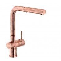 Franke Active Plus SM Pull-Out Single Lever Kitchen Mixer Tap Copper