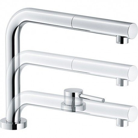 Franke Active Window Pull-Out Subwindow mixer with shower - Chrome