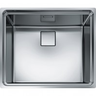 Franke Centinox CEX 210-50 Stainless Steel Silk Kitchen Sink with Single Bowl