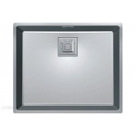 Franke Centinox CMX 160-34/17 Stainless Steel Silk Kitchen Sink with Single Bowl Linen Finish