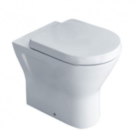 Essential IVY Comfort Bathroom Back to Wall Pan + Soft Closed Seat